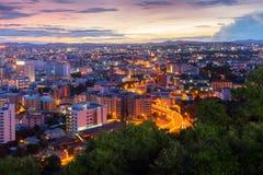Scenisk sikt av den Pattaya staden Royaltyfri Foto
