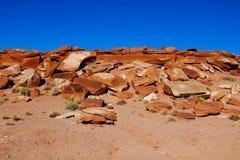 Scenisk sikt av det härliga landskapet av Sedona i Arizona arkivfoton