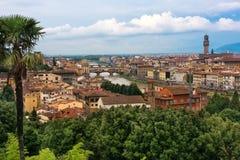 Scenisk sikt av Florence, Italien Royaltyfria Foton