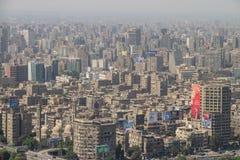 Scenisk sikt av Kairo i Egypten Royaltyfria Foton