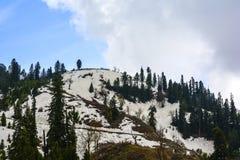 Scenisk sikt av Siri Paye i Kaghan Valley, Pakistan Royaltyfri Bild