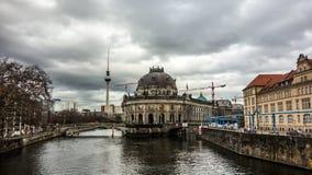 Scenisk sikt Berlin Arkivbilder