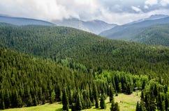 Scenisk sikt för Colorado Rockies Royaltyfria Foton