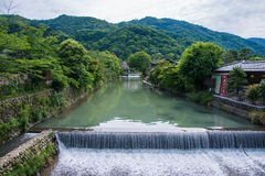 Scenisk sikt för härlig natur i Japan Royaltyfri Fotografi