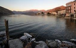 scenisk sikt för lake royaltyfri fotografi