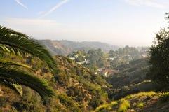 Scenisk sikt från Hollywood Hills royaltyfria bilder