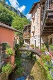 Scenisk sikt i Tagliacozzo, landskap av L ` Aquila, Abruzzo, Italien Arkivbilder