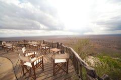 Scenisk sikt Kenya för Lumo naturvård Arkivfoto