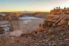 Scenisk sikt på dalen i Chile Arkivfoton