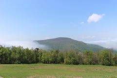 Scenisk sikt på den Shenandoah delstatsparken Arkivbilder