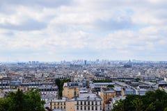 Scenisk sikt Paris Frankrike Royaltyfri Fotografi