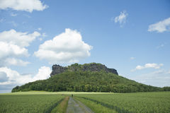 scenisk sommar för berg Royaltyfria Foton