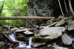 scenisk trail Arkivbild
