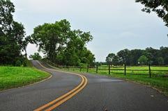 Scenisk väg i Maryland Royaltyfria Foton