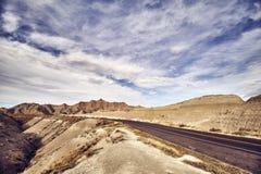 Scenisk väg i South Dakota, USA royaltyfri foto