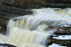 Scenisk vattenfall 3 Royaltyfri Bild