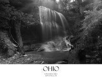 scenisk vattenfall Arkivfoto