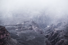 Scenisk vinter Grand Canyon Royaltyfri Foto
