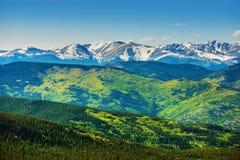 Sceniska Colorado berg Royaltyfria Foton