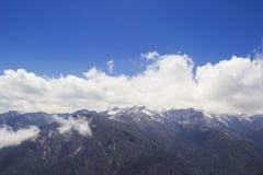 Sceniska Dzongri Royaltyfri Fotografi