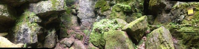 Sceniska grottor Arkivbilder