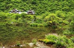 Sceniska Huanglong Fotografering för Bildbyråer