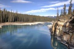 Sceniska Jasper National Park, Kanada Arkivfoto