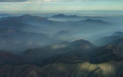 Sceniska kullar av Chile Royaltyfri Fotografi