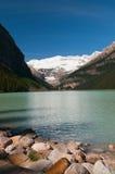 sceniska Lake Louise Arkivfoto