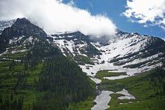 Sceniska Montana Mountains Arkivfoto