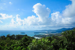 Sceniska Phuket Arkivbilder