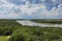 Sceniska Platte River Arkivbilder