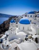 Sceniska Santorini Arkivfoton