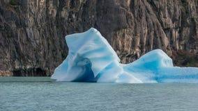 Sceniska sikter från Estancia Cristina och Glaciar Upsala, Patagonia, Argentina arkivfoton
