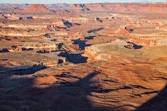 Sceniskt Canyonlands Utah landskap Royaltyfria Foton