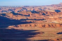 Sceniskt Canyonlands Utah landskap Royaltyfri Foto