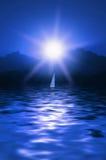 sceniskt hav Royaltyfri Bild