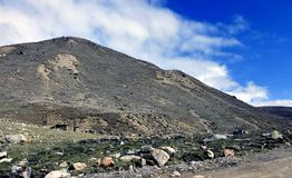 Sceniskt Himalayan berg i norr Sikkim, Indien Fotografering för Bildbyråer