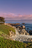 Sceniskt Kalifornien kustlandskap Arkivbilder