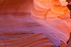 Sceniskt landskap för antilopkanjon Arkivbild