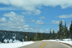 Sceniskt landskap i Rocky Mountain Royaltyfri Bild