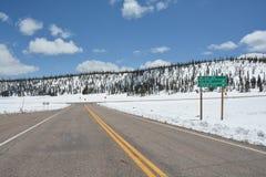 Sceniskt landskap i Rocky Mountain Royaltyfri Foto