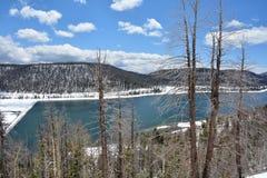 Sceniskt landskap i Rocky Mountain Fotografering för Bildbyråer