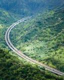 Sceniskt landskap Oahu Royaltyfria Foton