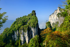 Sceniskt område för Kina kanjon Arkivfoton