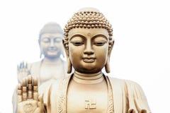 Sceniskt område Lingshan för storslagen Buddha Royaltyfria Foton