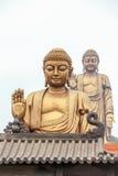 Sceniskt område Lingshan för storslagen Buddha Royaltyfri Fotografi