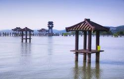 Sceniskt område wuxi för tre kungariken royaltyfria bilder