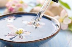 Scented νερό και λουλούδια Στοκ φωτογραφίες με δικαίωμα ελεύθερης χρήσης
