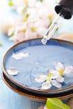 Scented νερό και λουλούδια Στοκ Φωτογραφία